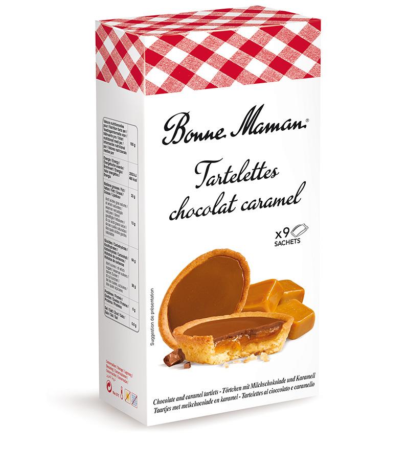 Majhne pite s čokoladno-karamelnim nadevom